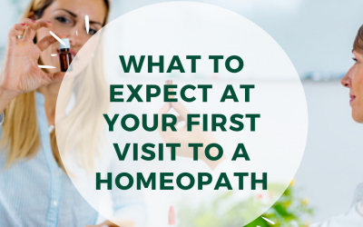 Your First Visit to a Homeopath: What to Expect